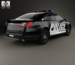 Ford Taurus Interior Ford Taurus Police Interceptor Sedan 2013 3d Model Hum3d