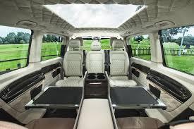 luxury mercedes van senzati jet sprinter luxury vip people carriers