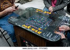 pacman 80 u0027s classic arcade game stock photo royalty free image