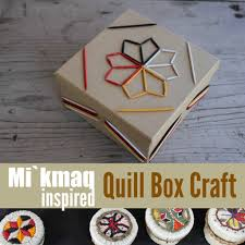 explore mi u0027kmaq culture quillwork craft for native american