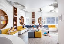 design house skyline yellow motif wallpaper community focused design inspires inner city youth kontaktmag
