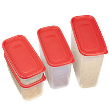 Red Kitchen Canisters by Amazon Com Rubbermaid Modular Canisters Food Storage Container