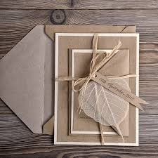 eco wedding invitations recycling paper wedding invitation