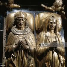 Tudor King Details Of Monument To Henry Vii And Elisabeth Of York By Pietro