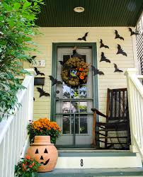 home decor outside excellent outdoor home halloween ideas integrate winsome porch