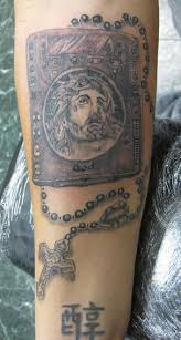 rosary tattoos images tattooimages biz