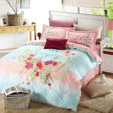 light blue girls bedding pretty floral bed set theme lostcoastshuttle bedding set