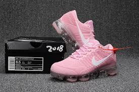 light pink nike air max womens nike air max 2018 gs light pink white 849558 019 running shoe