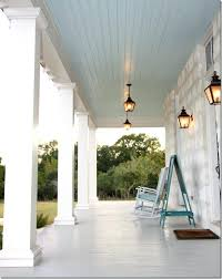 Porch Ceiling Lights Front Porch Ceiling Light Gray Painted Floors And Blue Painted