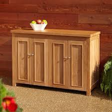 Outdoor Kitchens Cabinets Teak Outdoor Kitchen Cabinets Signature Hardware