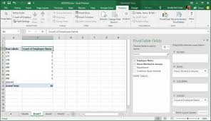 What Is A Pivot Table Excel How To Create A Pivot Table In Excel 2016
