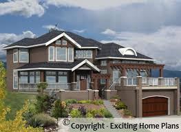 Modern Hillside House Plans Modern House Garage U0026 Dream Cottage Blueprints By Exciting Home Plans