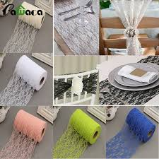 tulle table runner 22m roll vintage lace netting fabric tulle roll for tutu skirt