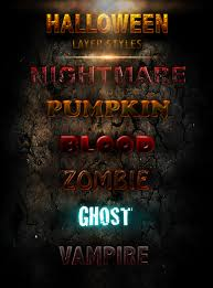 free halloween graphic halloween layer styles free by xiox231 on deviantart