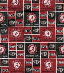 university of alabama ncaa cotton fabric joann