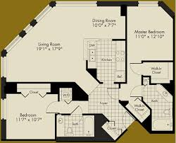 2 Bedroom Condo Floor Plan 1 950 Rent Conundrum U2013 An Aqua Convertible Or A 2 Bedroom 2 Bath