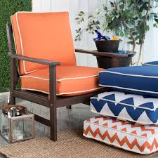 Custom Patio Furniture Cushions by Coral Coast Valencia 24 X 22 5 In Hinged Deep Seating Chair