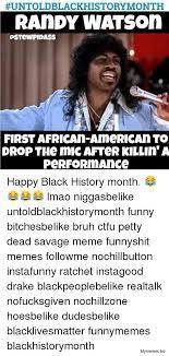 Black History Meme - happy black history month