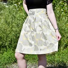 high waisted skirt how to make a high waisted pleated skirt ofs maker s mill