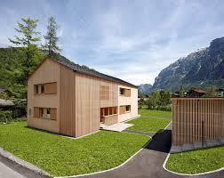doppelhaus architektur johannes kaufmann architektur doppelhaus islen mellau 9
