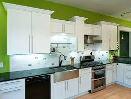 shaker white painted cabinets kitchen images