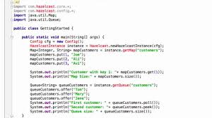 Java Map Example Hello World Your First Hazelcast Tutorial In Java On Vimeo