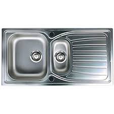 Astracast AOXBHOMESK Alto  Bowl Brushed Stainless Steel - Brushed stainless steel kitchen sinks