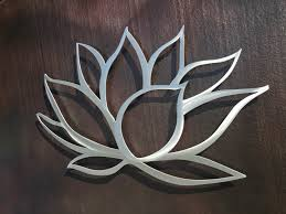 lotus flower metal wall art lotus metal art home decor