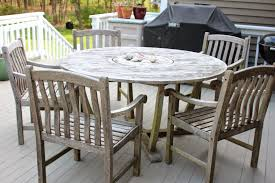 Cleaning Outdoor Furniture by How To Clean Teak Outdoor Furniture Beadboard Vs Wainscoting
