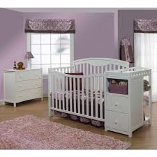 Side Rails For Convertible Crib Sorelle 4 In 1 Crib And Changer Combo White Walmart