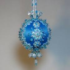 beaded ornament kit carnival by glimmertree on etsy