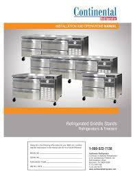 service contractor locator continenetal refrigerator