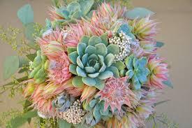 succulent bouquet how to create a succulents bridal bouquet