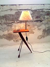 End Table Lamp Combo Mcm Side Table Ground Floor Productions