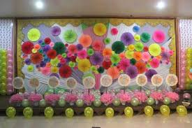 background decoration for birthday party at home kids birthday party ideas pink lover