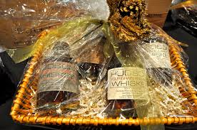 whiskey gift basket ug gift idea 22 hudson whiskey basket the grape