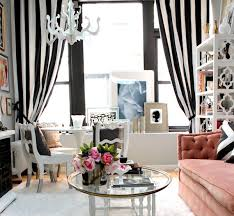 Whote Curtains Inspiration Enthralling Creative Black And White Patterned Curtain Ideas At
