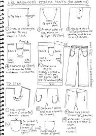 pattern pajama pants free pattern pajama pants or shorts the craft of clothes