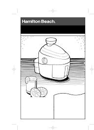 hamilton beach juicer 67900 user guide manualsonline com