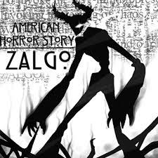 american horror story zalgo letters me on we heart it