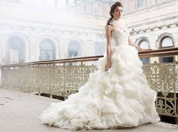 marriage dress lazaro wedding dresses handese fermanda