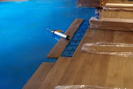 install hardwood floor concrete home decorating interior