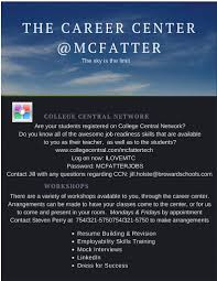 Onet Online Resume by Career Assessment Mcfatter Technical College