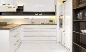 cuisine blanche brillante cuisine blanc brillant 2392 magic menuiserie dufays