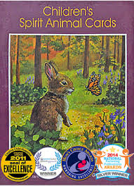children s spirit animal cards earth magic