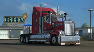 kenworth trailers patch kenworth t908 1 22 truck euro truck simulator 2 mods
