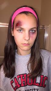 Halloween Special Effects Makeup by Special Effects Head Wound Headwound Cut Sfxmakeup Gash