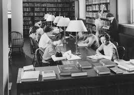 palmer library reading room1937 u2013 the college voice