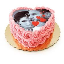photo cake photo roses heart cake personalized cake for giftmyemotions