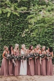 dusty wedding dress dusty bridesmaid dresses